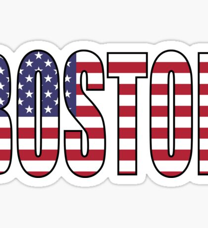 Boston. Sticker