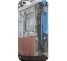 Decaying train  iPhone Case/Skin