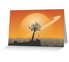 Dreams sunset Greeting Card