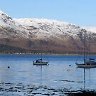 Loch Linnhe at Fort William, Scotland by trish725