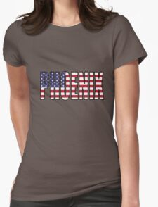 Phoenix. Womens Fitted T-Shirt