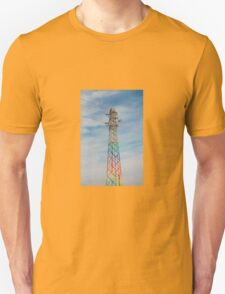 Rainbow Pylon Unisex T-Shirt