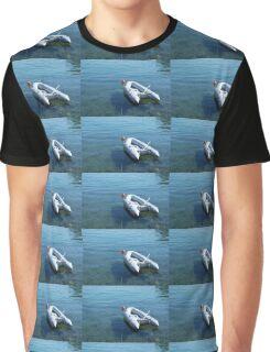 Boat in Bakar Harbour Graphic T-Shirt