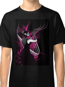 spanish flamenco dancer with purple color Classic T-Shirt