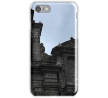 Cross and Virgin Mary Statue iPhone Case/Skin