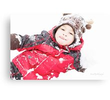 Winter Playtime Canvas Print