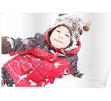 Winter Playtime Poster