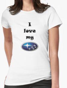 SUBARU Womens Fitted T-Shirt