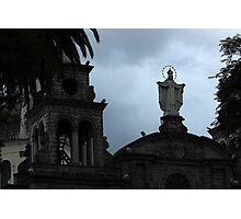 Virgin Mary Statue on a Church Photographic Print