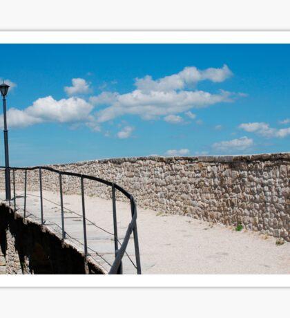 Motovun City Walls Sticker