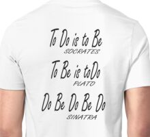 Do be Do be Do, Greek version, MUSIC, Frank Sinatra Lyrics Unisex T-Shirt