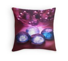 Colorful Bubbles 2 - Object Photography Throw Pillow