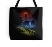 The Lord Of The Rings - Over The Hill Tote Bag