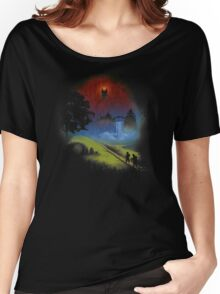 The Lord Of The Rings - Over The Hill Women's Relaxed Fit T-Shirt