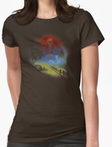 The Lord Of The Rings - Over The Hill Womens Fitted T-Shirt