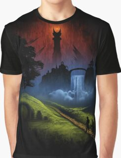 The Lord Of The Rings - Over The Hill Graphic T-Shirt