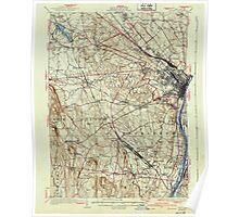 New York NY Albany 136543 1927 62500 Poster
