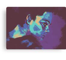 Stiles Stilinski - Colour Palette Challenge Canvas Print