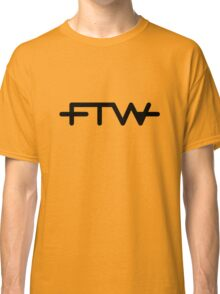 FTW Gold Tee/Yellow Poster Classic T-Shirt
