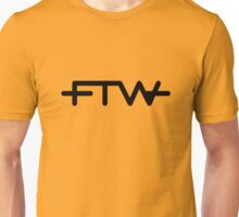 FTW Gold Tee/Yellow Poster Unisex T-Shirt