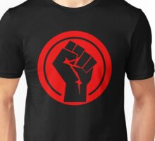 Red Socialist Fist Unisex T-Shirt
