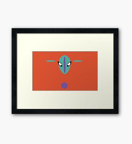 Deoxys Framed Print