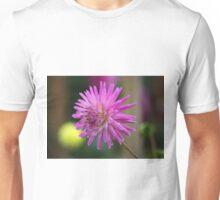 Purple Flower Power Unisex T-Shirt