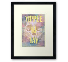 Die Hard - Pastel Warrior Framed Print