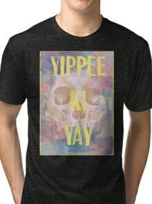 Die Hard - Pastel Warrior Tri-blend T-Shirt