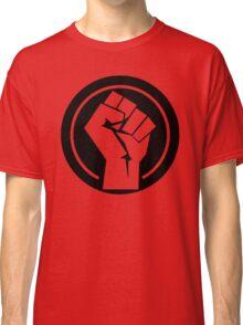 Black Socialist Fist Classic T-Shirt