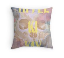 Die Hard - Pastel Warrior Throw Pillow