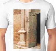 Old Church Door in Murano Unisex T-Shirt