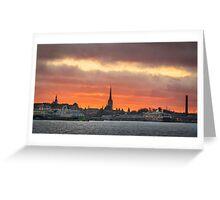 Port of Tallinn Greeting Card
