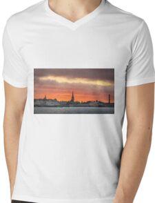 Port of Tallinn Mens V-Neck T-Shirt