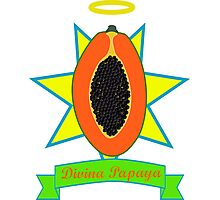 Holy Papaya Photographic Print