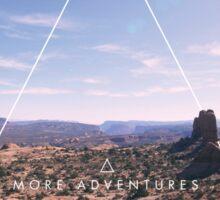More Adventures Sticker