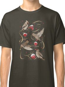 Birds and Berries Classic T-Shirt