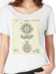 Mariner´s Compass-1892 Women's Relaxed Fit T-Shirt