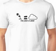 Vaping: The Juice Is Loose Unisex T-Shirt