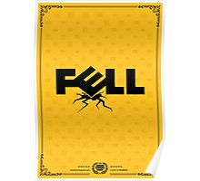 Fell Computers Gold Tee/Yellow Poster Poster