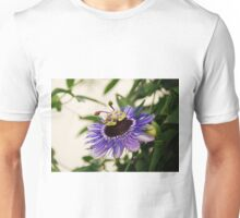 Purple Haze Passiflora Unisex T-Shirt