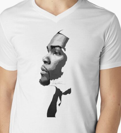 All Hail KD Mens V-Neck T-Shirt