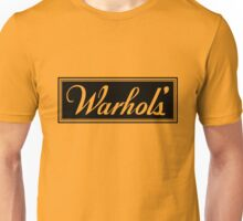 Warhol's Gold Tee/Yellow Poster Unisex T-Shirt