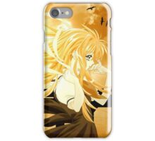 Flowing Hair By the Sunset Air Gear iPhone Case/Skin