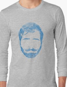 beard Long Sleeve T-Shirt