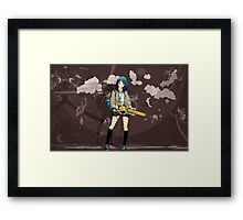 Awesome Street art Inspired Air Gear Framed Print