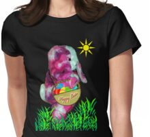 Easter rabbit Womens Fitted T-Shirt
