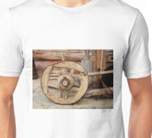 Wooden Wheel Unisex T-Shirt