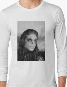 The 100 - Octavia Blake (b/w) Long Sleeve T-Shirt