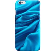 Blue Satin iPhone Case/Skin